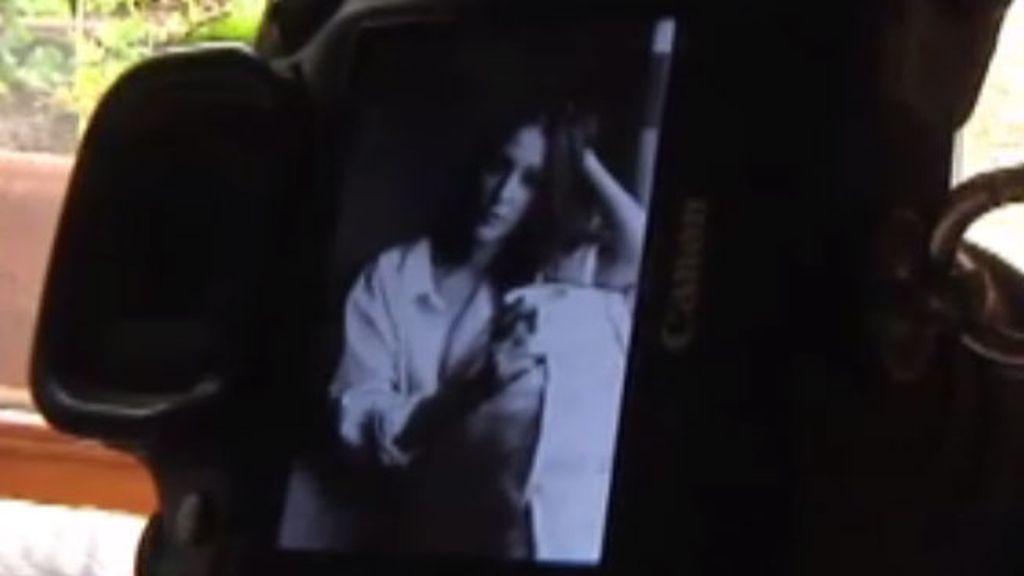 Adela Ucar en una sesión de fotos muy sensual