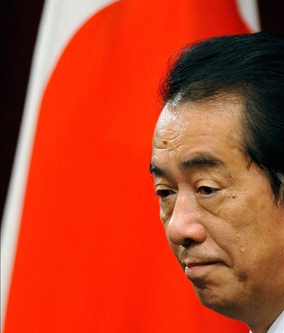 El primer ministro japonés, Naoto Kan. EFE/Archivo