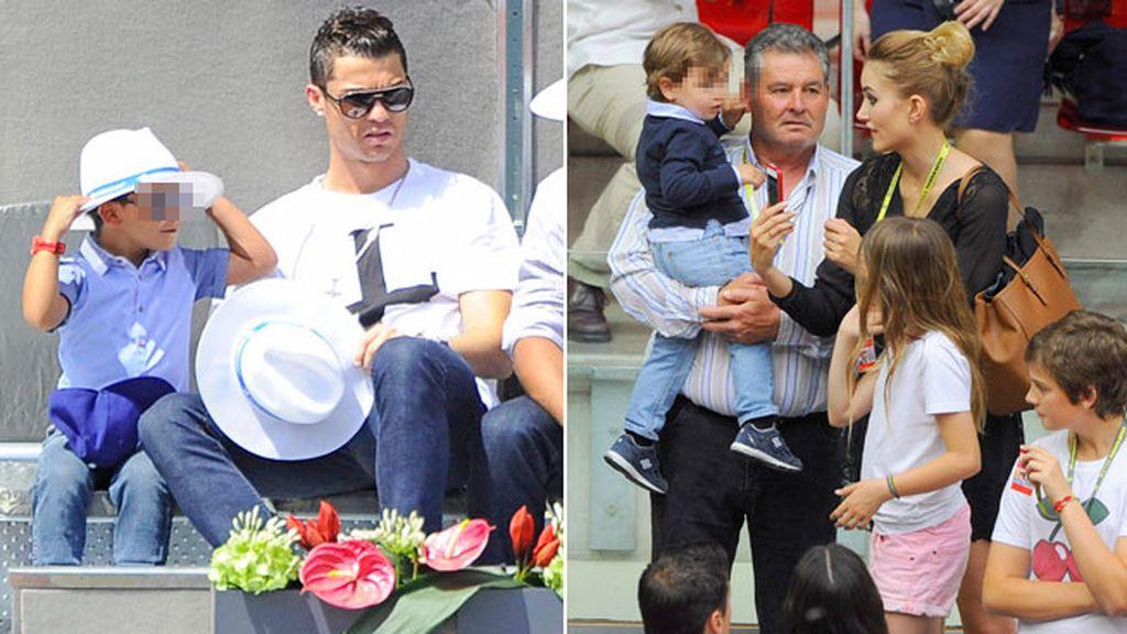 Ronaldo Jr. y Lucas se convirtieron en los protagonistas en las gradas
