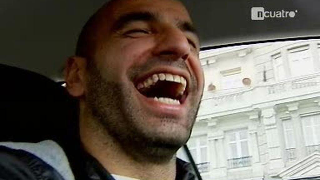Manuel Pablo también es taxista