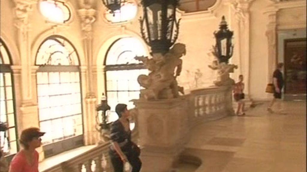 Viena: El palacio Belvedere