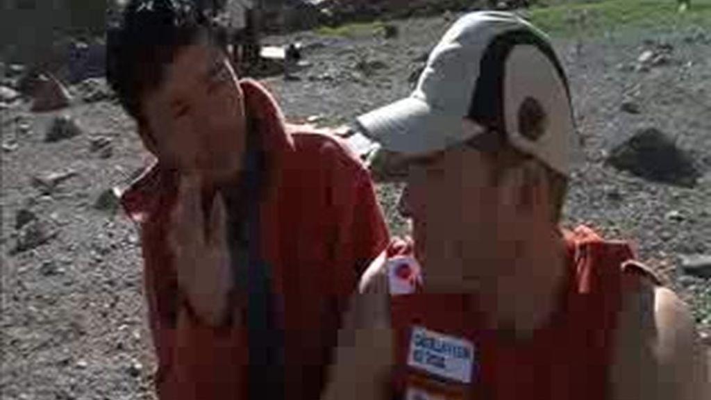 EXCLUSIVA: Los montañeros novatos se dan cuenta que no sobra mucha comida