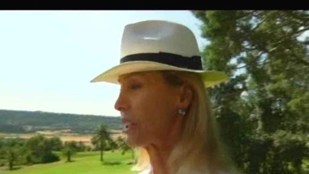 INÉDITO. Samanta visita a la princesa austriaca Loretta Zu Sayn-Wittgenstein