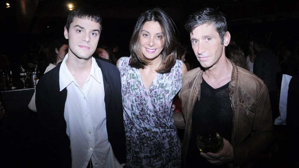 Nacho Caballero, Parsida Aboud y Joan Oliá