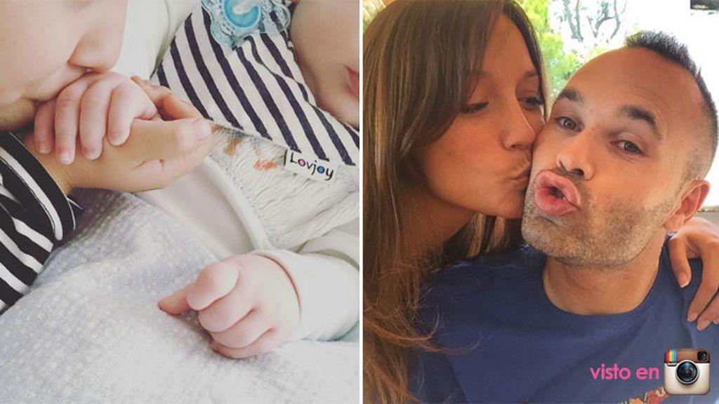 Paolo es el segundo hijo de Iniesta y Anna y acaba de cumplir cuatro meses