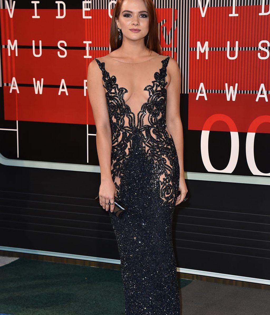 Katie Stevens en los premios MTV
