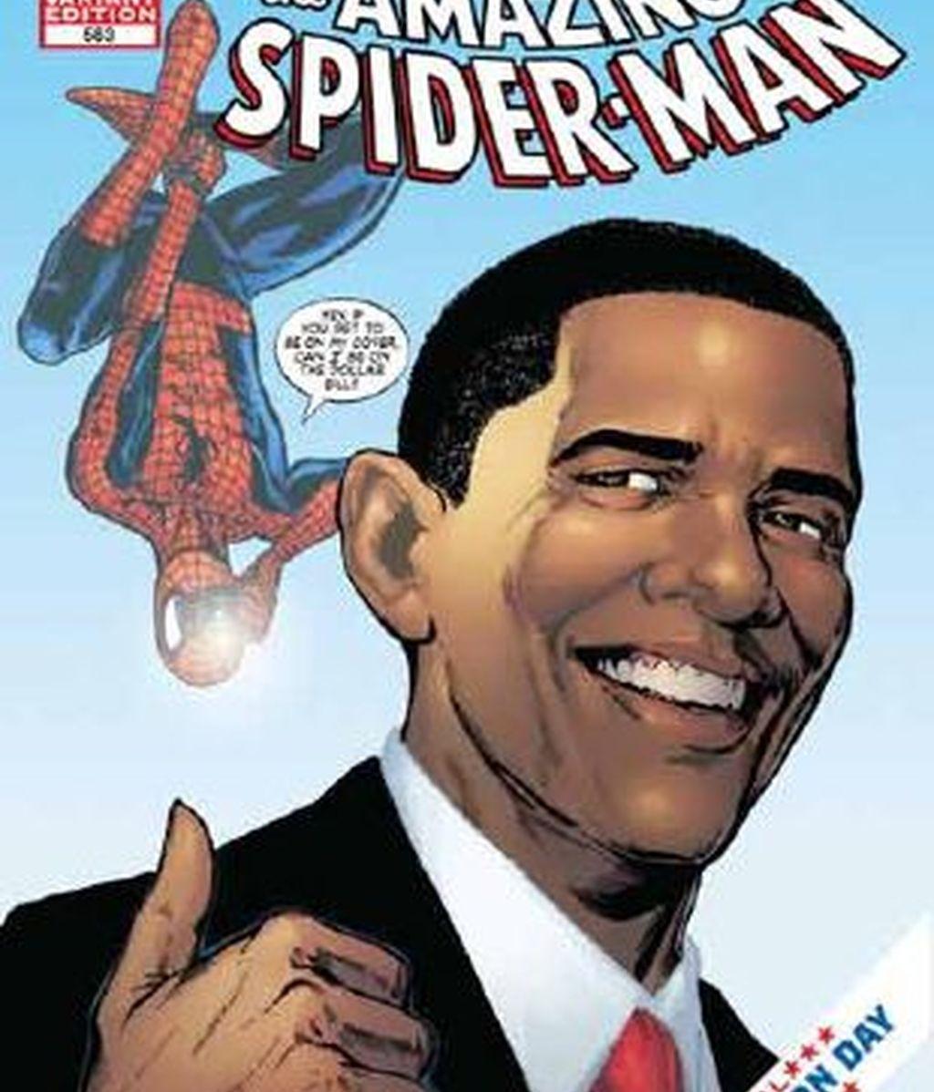 El hombre araña se alía con Obama. Vídeo: ATLAS.