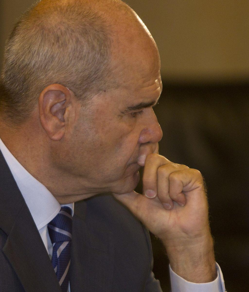 Manuel Chaves en la comisión de los ERE