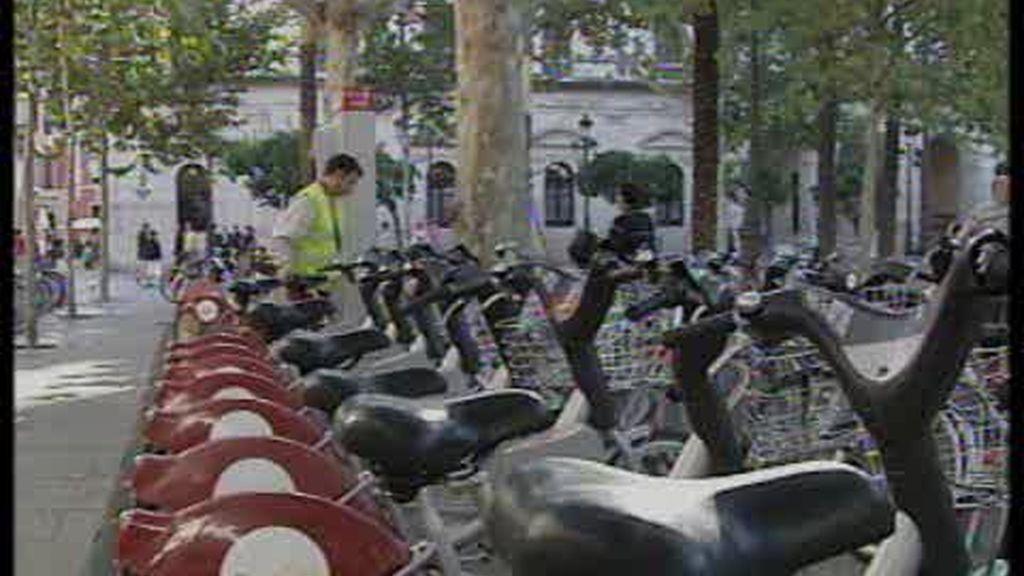 Bicicletas destrozadas