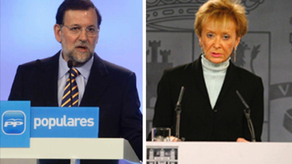 """El PP habla de """"secuestro"""" a Ripoll y el Gobierno le acusa de esconder """"basura bajo las alfombras"""""""