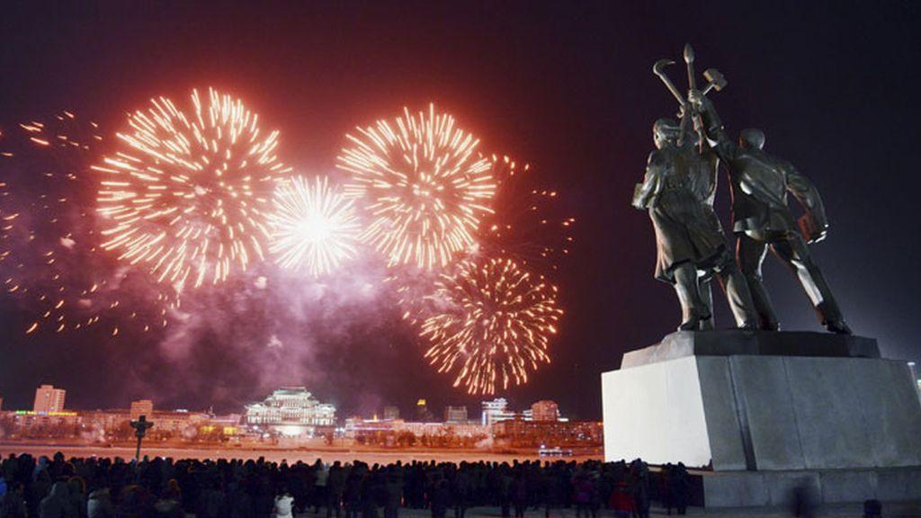 La fiesta de luces en Corea del Norte