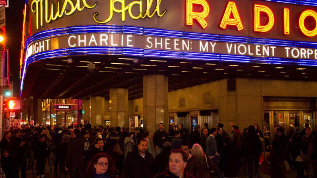 El espectáculo de Charlie Sheen