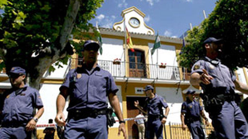 Operación contra la corrupción en Estepona. Vídeo: Informativos Telecinco.