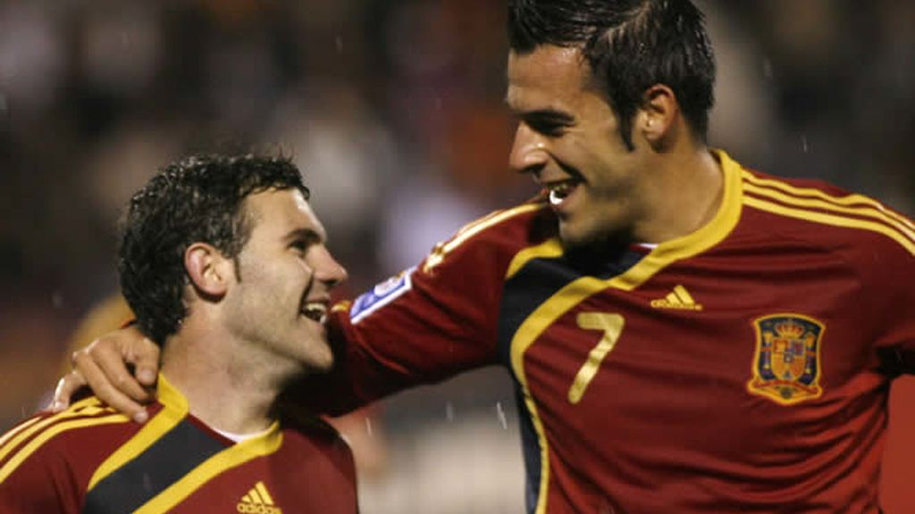Negredo debutó con la Selección española