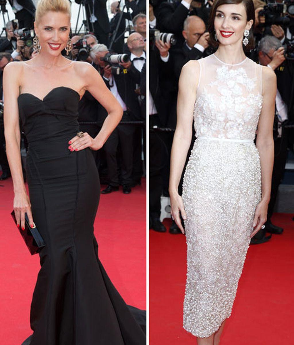 Judit Mascó y Paz Vega han llevado el glamour español a Cannes