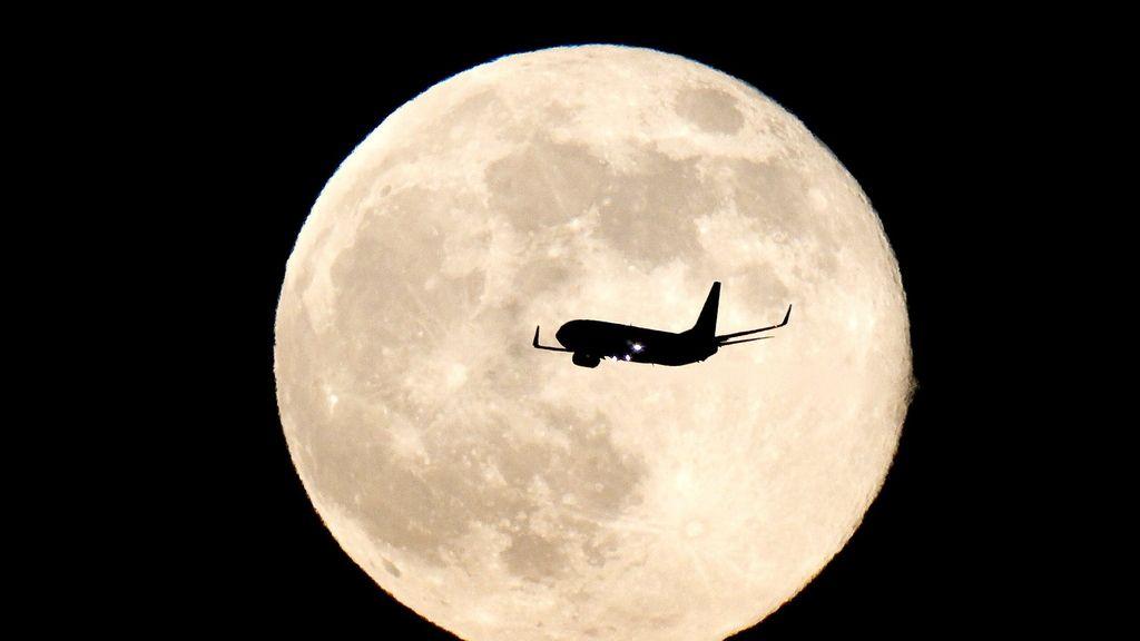 'Superluna' en el espacio