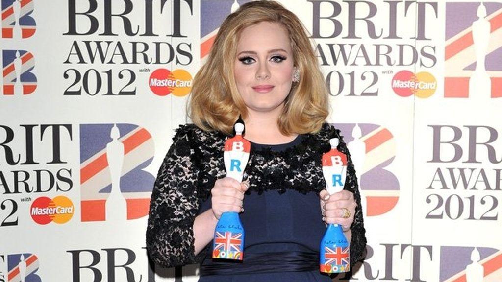 Adele Brit en los Awards