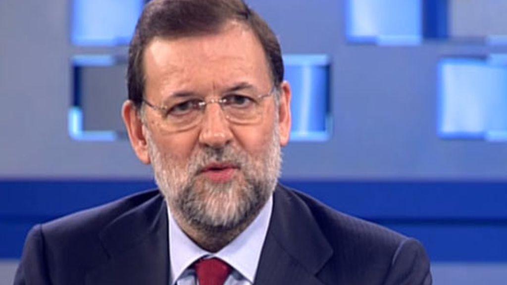 Rajoy, en Telecinco