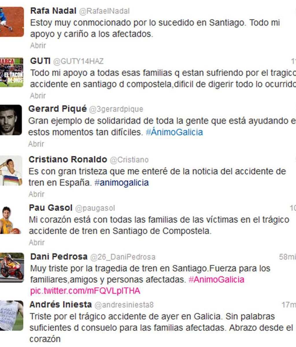 tweets galicia deportistas