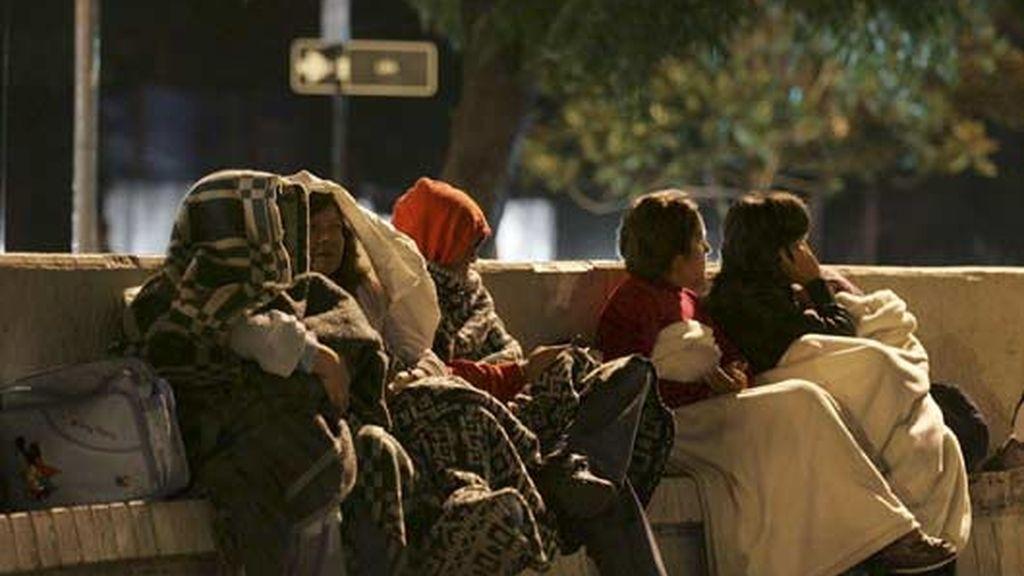 Los chilenos se echan a la calle