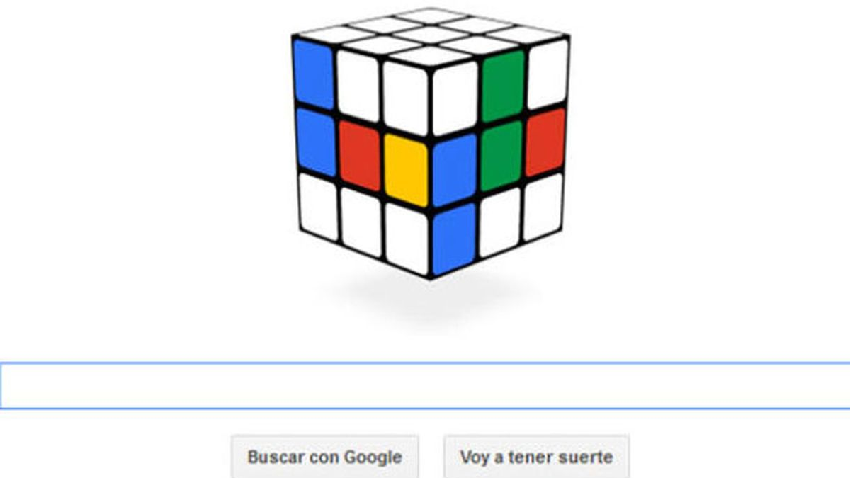 doodle,Google,Cubo de Rubik,Erno Rubik
