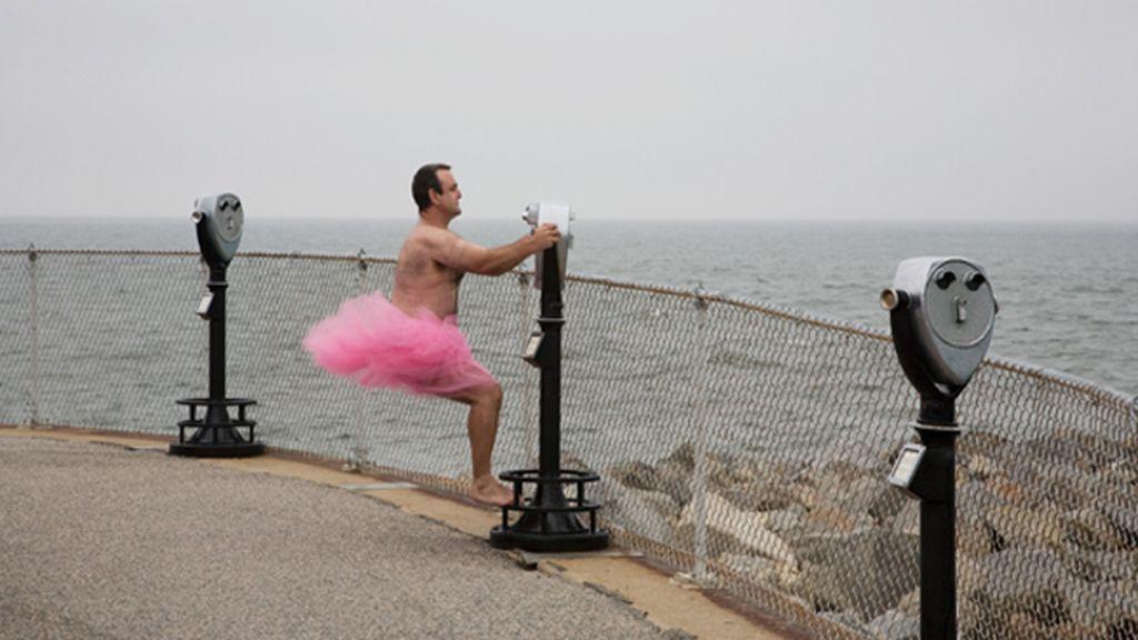 Un tutú rosa contra el cáncer