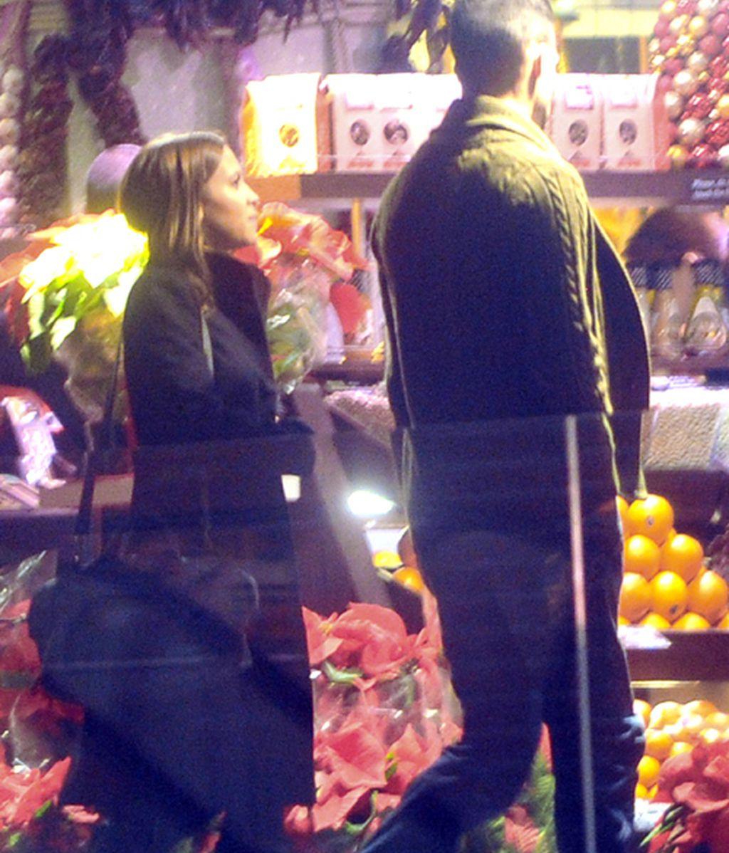 ¿Pareja a la vista? Ana Fernández con el portero del Getafe