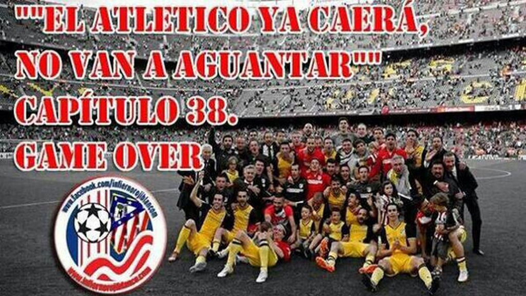 Los rojiblancos conquistaron el décimo título de Liga en Barcelona