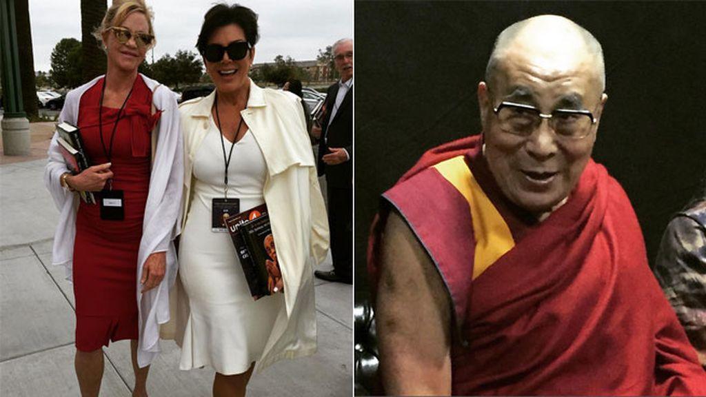 Viaje con Kris Jenner para conocer del Dalai