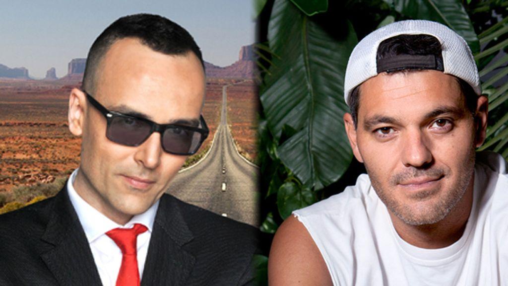 Risto Mejide y Frank Cuesta