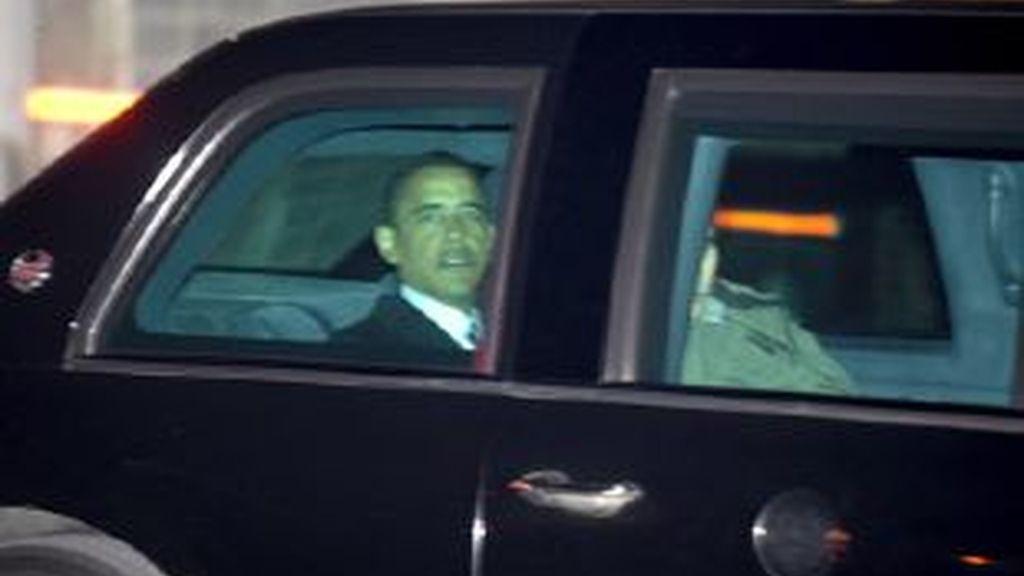 El presidente electo de Estados Unidos, Barack Obama, vivirá en un hotel hasta el 15 de enero. Vídeo: ATLAS.