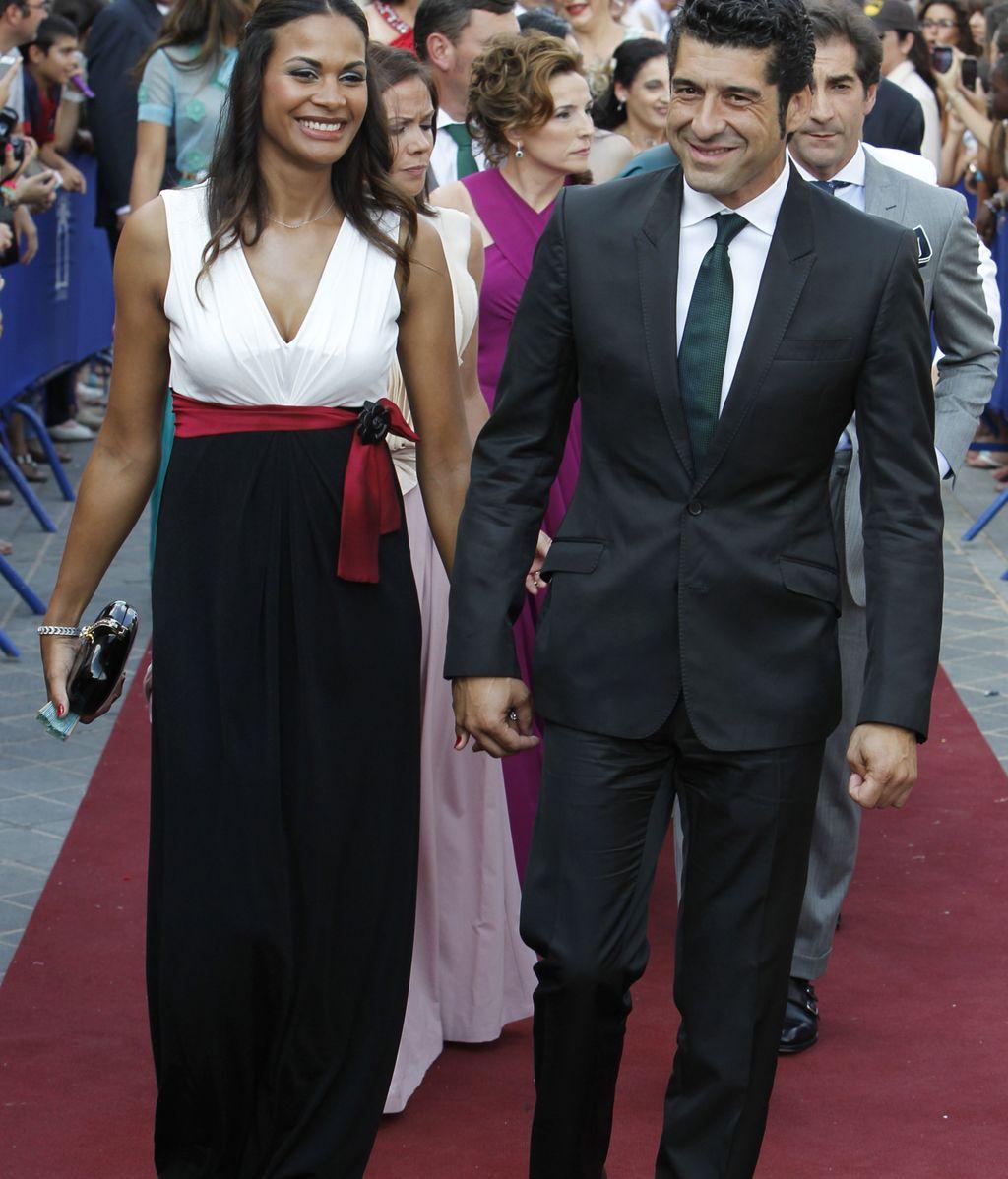 Manuel Caballero y su mujer Carlota