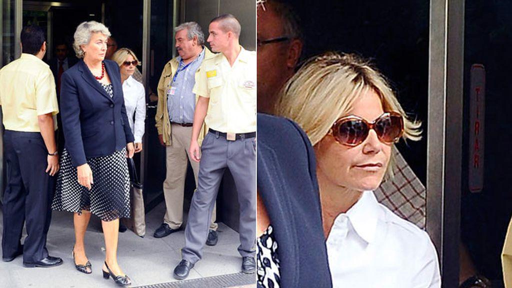 Fran y Eugenia, cara a cara en el juzgado