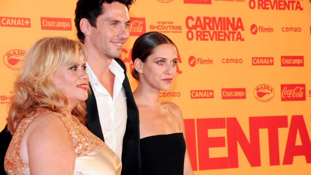 Carmina Barros, Paco León y María León