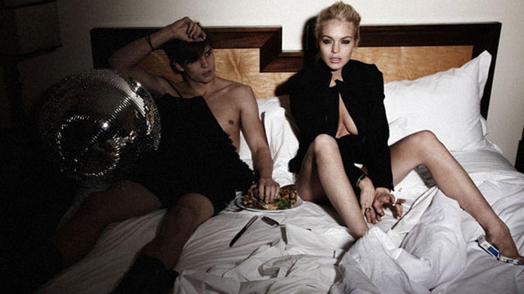 Lindsay Lohan protagoniza un trío sexual