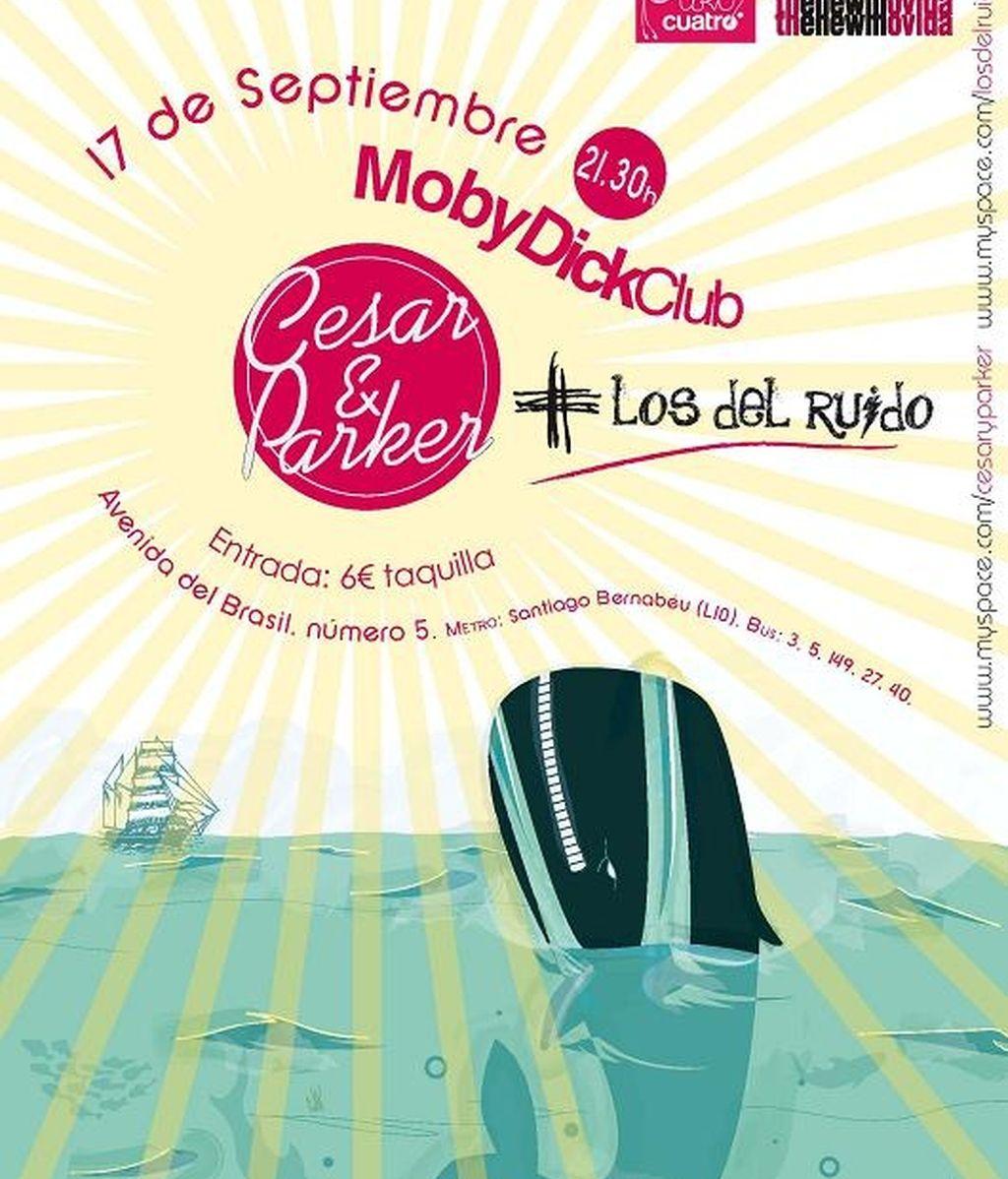 Concierto de Cesar&Parker en el Club Moby Dick de Madrid