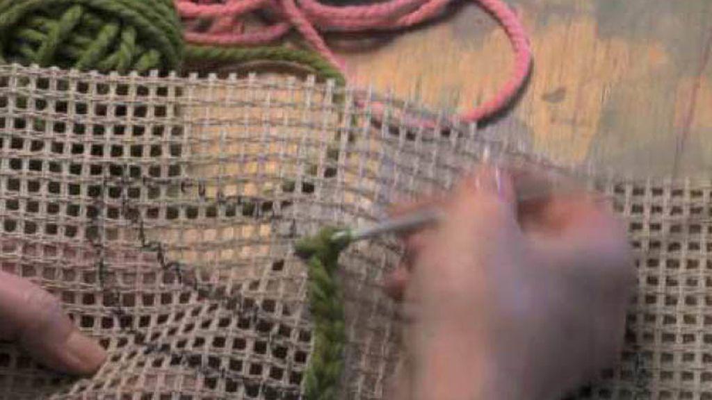 Tercera lección de Tricotosas: un tapiz de nudos