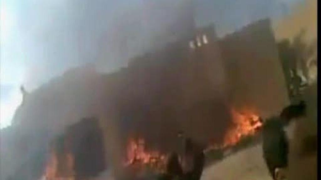 Protestas en Libia y Yemen