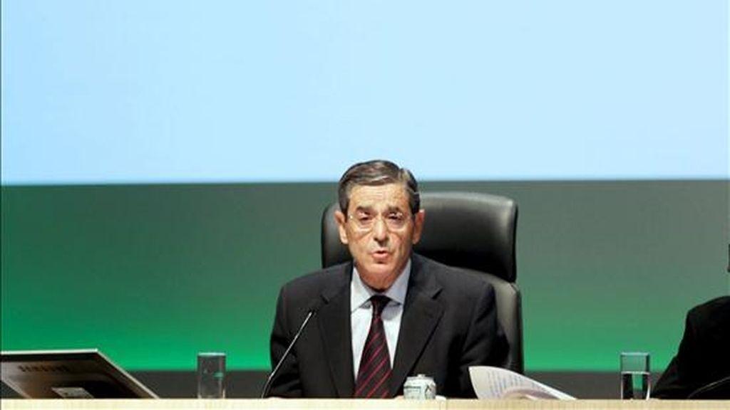 El presidente de la BBK, Mario Fernández. EFE/Archivo