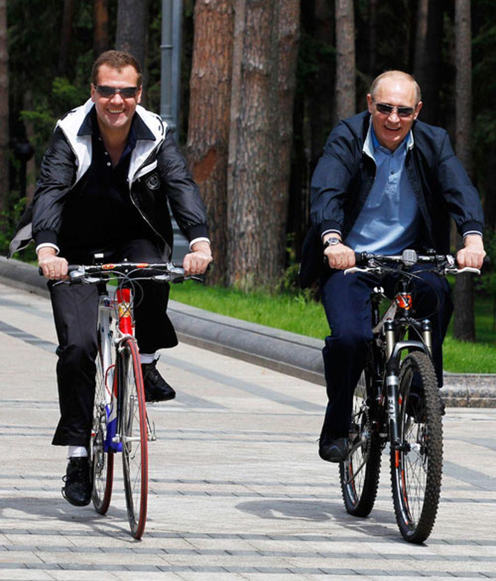 Putin, ahora buceador