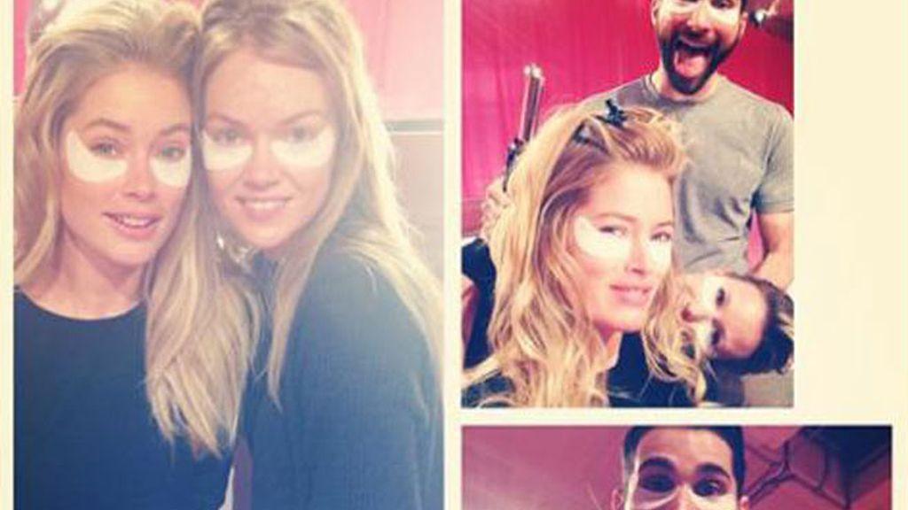 El backstage de los Angeles de Victoria's Secret, en Instagram