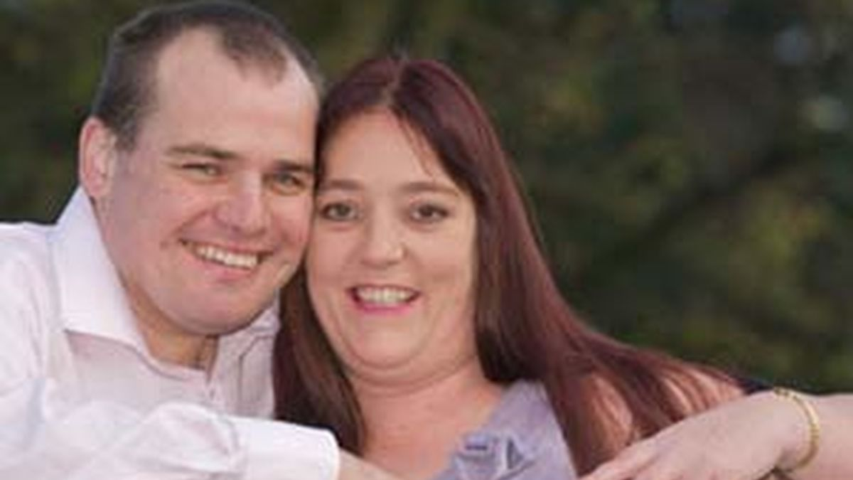 Michelle Thompson y Andrew Carr, en una imagen de News of The World.