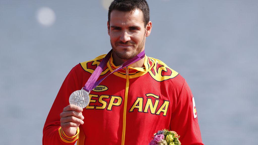 Saúl Craviotto, medalla de plata  en la final de K-1 200 metros
