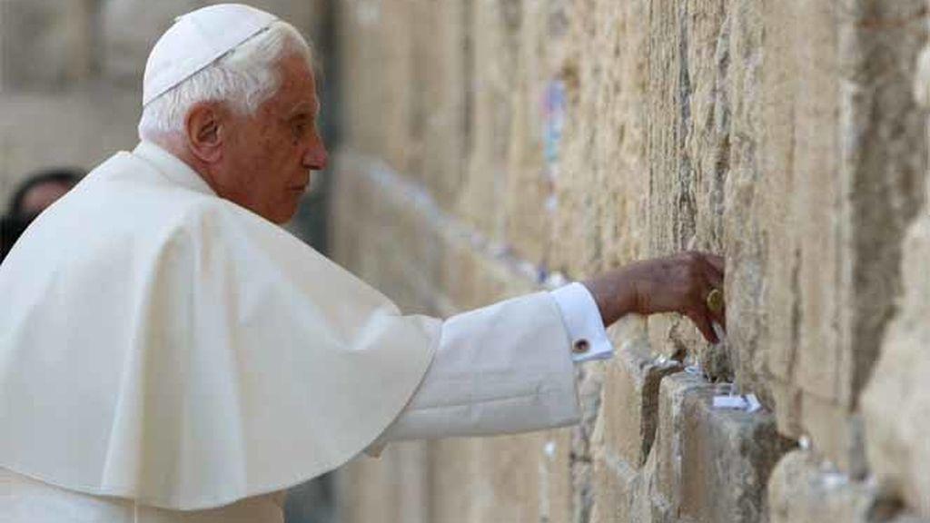 El Papa en el Muro de las Lamentaciones