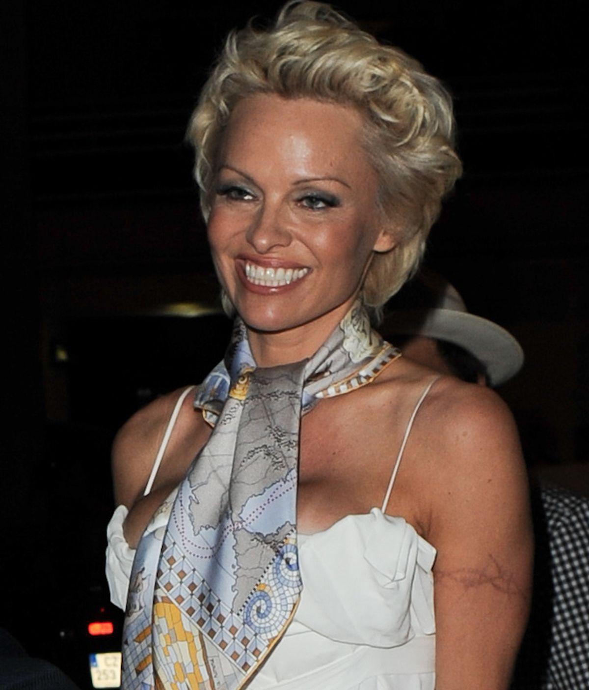 Pamela Anderson,en el Festival de Cannes