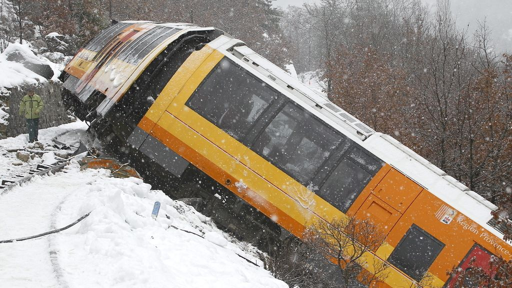 Descarrila un tren en Francia