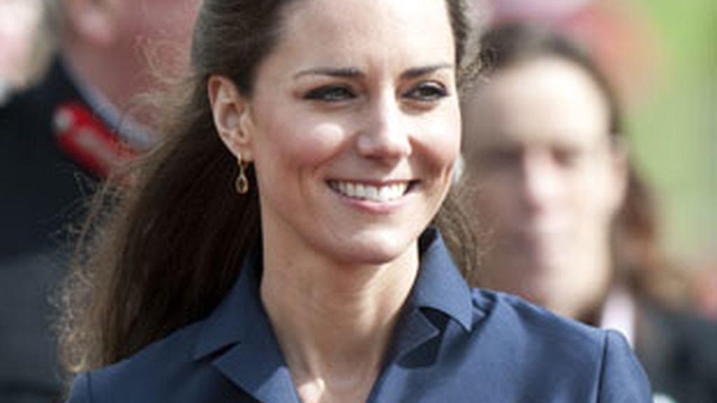 Imagen de archivo de la prometida real Kate Middleton. Foto: Gtres.