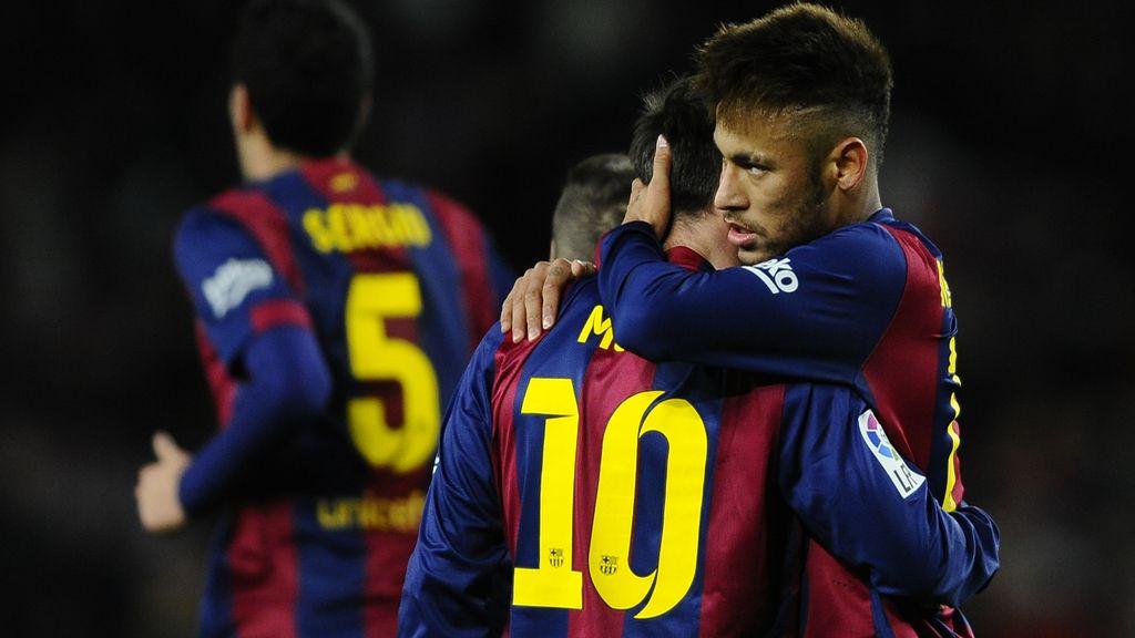 Leo Messi, Gabriel, Barça