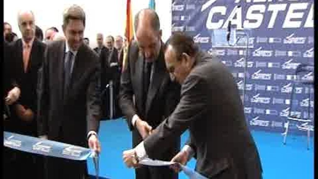 Fabra inaugura su aeropuerto
