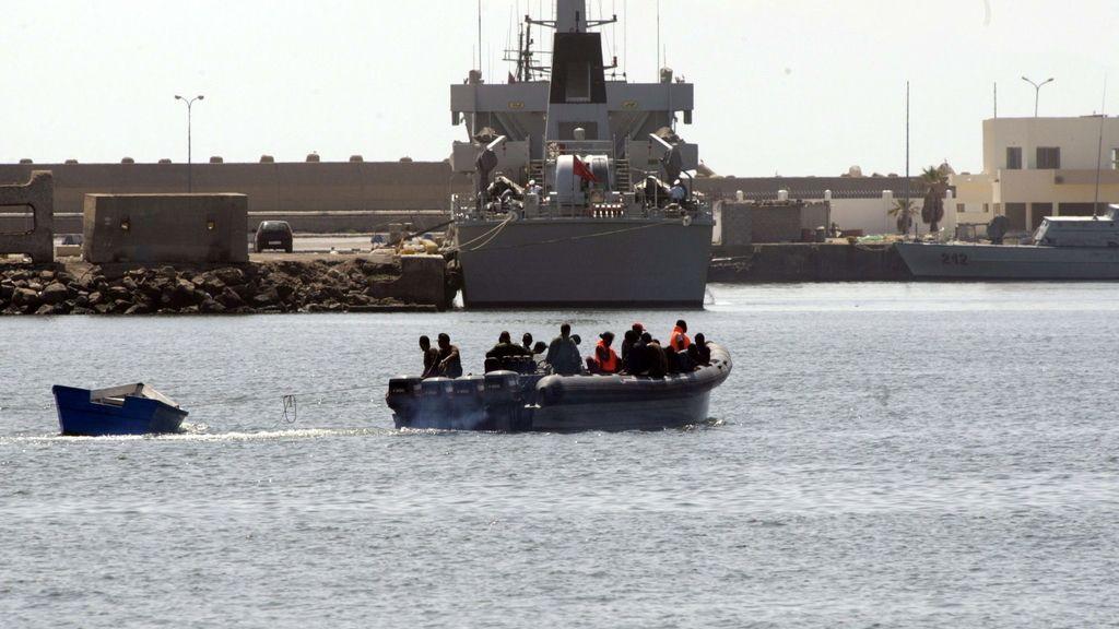 Patera interceptada en Melilla